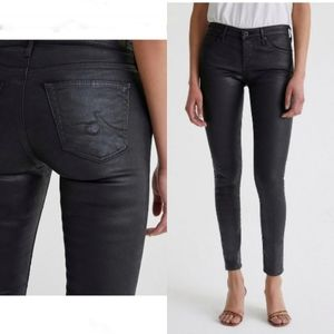 AG Adriano Goldschmied Leatherette Ankle Jean 27